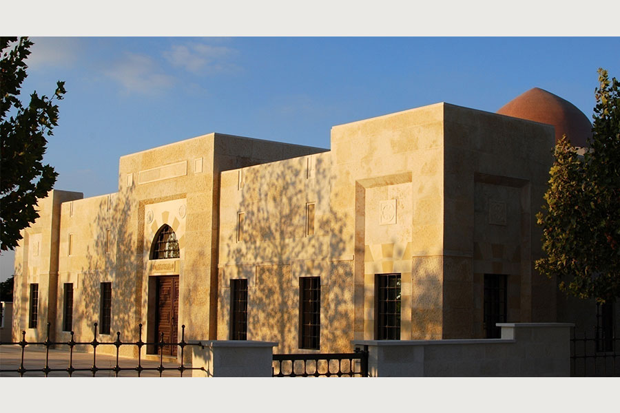 Khaled azzam museum of aal el beyytt for Modern arabic house architecture